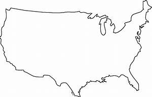 Blank Map of the United States - Free Printable Maps