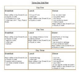 Cleveland Clinic 3 Day Diet - healthy foods - Pinterest Cleveland Clinic 3 Day