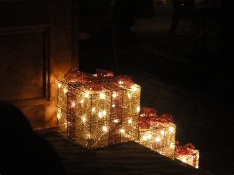 glass christmas light box christmas light boxes on the stairs picture of cassios