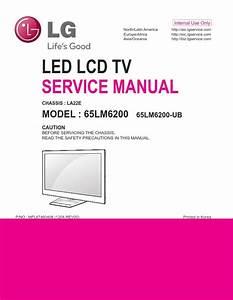 Lg 65lm6200 3d Smart Led Tv Service Manual And Repair