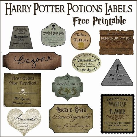 7 harry potter craft ideas printables everythingetsy com