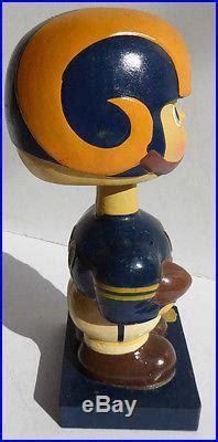 vintage    rams nfl football bobble head