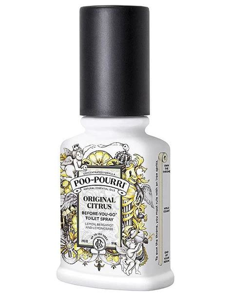Bathroom Odor Neutralizer by Poo Pourri Original Citrus Toilet Bathroom Spray Essential