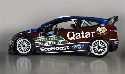 World Rally Team by Qatar M Sport World Rally Team Unveils 2013 Wrc Challenger