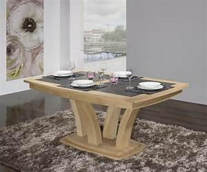 Table Bois Massif Contemporaine : table repas contemporaine ~ Teatrodelosmanantiales.com Idées de Décoration