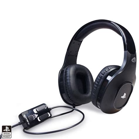 gaming headset ps4 test new playstation 4 ps4 4gamers premium stereo gaming