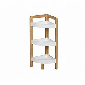 Etagere En Angle : etagere d angle salle de bain ~ Teatrodelosmanantiales.com Idées de Décoration