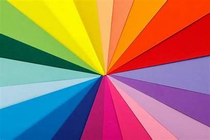 Colors Rainbow Paper Palette Sheets Colored Emotions