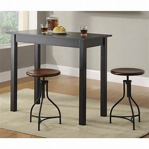 Carolina Cottage Classic Tavern Bar Table Black