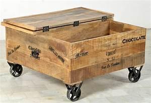 Couchtisch Holz Mit Rollen : truhentisch mit rollen bestseller shop f r m bel und einrichtungen ~ Bigdaddyawards.com Haus und Dekorationen