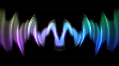 sound waves visualizer cgi youtube