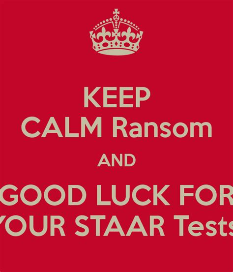 Good Luck For Your Test Quotes