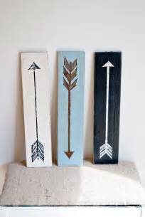 Painted Arrow Signs