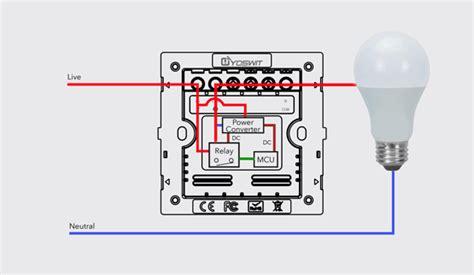 technology  wire smart light switch yoswitcom