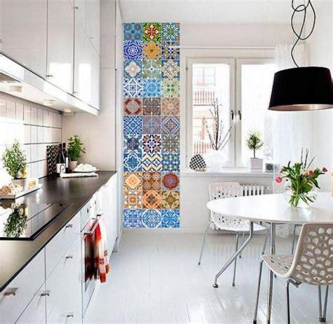 la cuisine töpfe le carrelage adh 233 sif carreaux de ciment un relooking facile pas cher pfe tile stickers