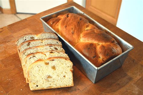 Featured in christmas treats filled with holiday goodness. At Mimi's Table: Grandma's Raisin Bread (Chalka)