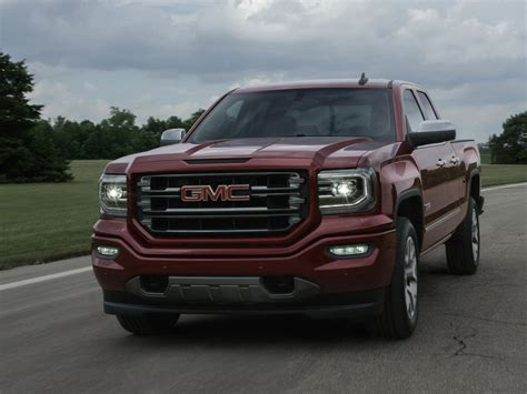The New 2016 Gmc Sierra Pickup Truck Will Feature A More
