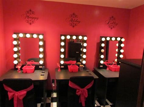 black makeup vanity table with lighted mirror bathroom fascinating mirror with lights around it for