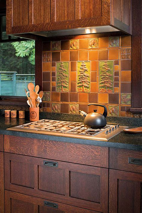 artful tile for kitchen bath arts crafts homes and