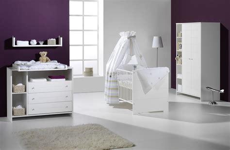 bebe chambre chambre bébé eco blanche avec armoire 2 portes