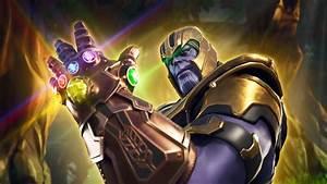 Thanos Et Son Gant De LInfini Sincrustent Dans Fortnite