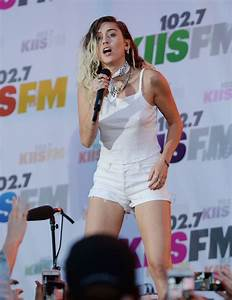 Miley Cyrus #MileyCyrus Performing at 102.7 KIIS FM's ...