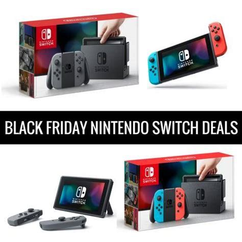 black friday nintendo switch deals cyber monday