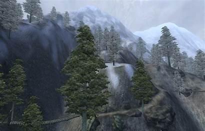 Mountains Oblivion Skyrim Cyrodiil Elder Scrolls Wikia