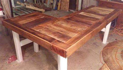 l shaped desk building plans we have made this diy pallet l shaped desk which is just