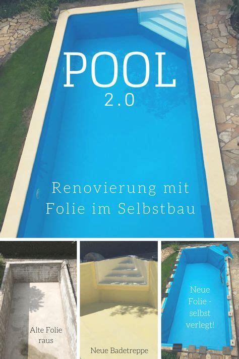Dachrinnenreinigung Im Do It Yourself Verfahren by Pool Renovieren Im Diy Verfahren Hier Wurde Ein 33 Jahre