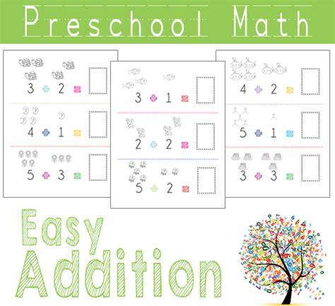 preschool math easy addition 187 one beautiful home