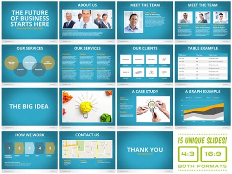 Pitch Deck Presentation Template Free universal pitch deck eight powerpoint template on behance