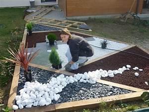 Gravier Blanc Pas Cher : gravier pas cher pour jardin affordable gravier pour all ~ Dailycaller-alerts.com Idées de Décoration