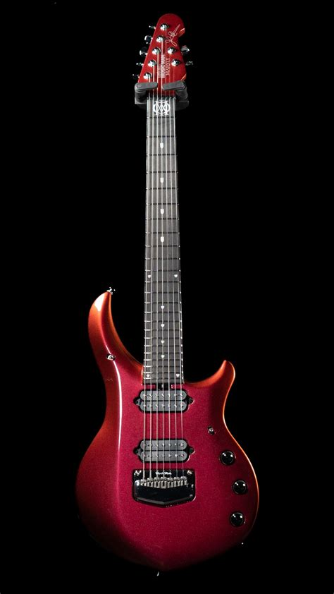 As mentioned, this is a cheaper alternative to music man's majesty guitar. Ernie Ball Music Man Majesty 7 Limited Edition BFR - Red ...
