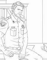 Coloring Pages Adult Uniform Male Man Drawing Woman Books Police Getdrawings Military Colorings Getcolorings Drawings Printable Print 1399 215kb Trend sketch template