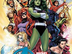 A-force, Assemble, All-female, Superhero, Team, On, The, Way, From, Marvel
