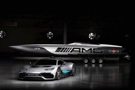 how hybrid cars work mercedes unveils 2 million amg cigarette racing boat