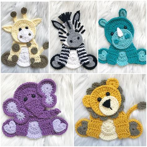 Applique Patterns Wildlife Crochet