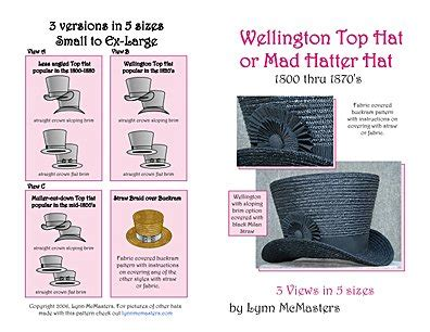 Mad Hatter Hat Template Images Design Ideas