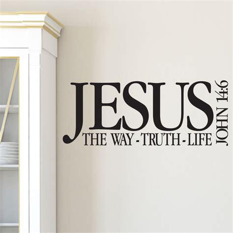 john  vinyl wall decal  jesus   truth life