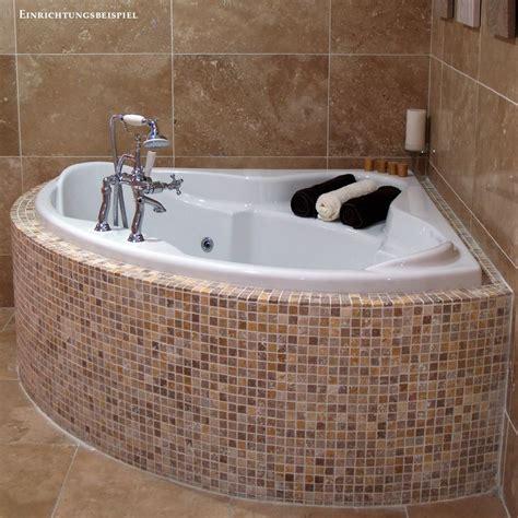 whirlpool badewanne 2 personen 140x140 vollausst 6 d 252 sen eckbadewanne home bad