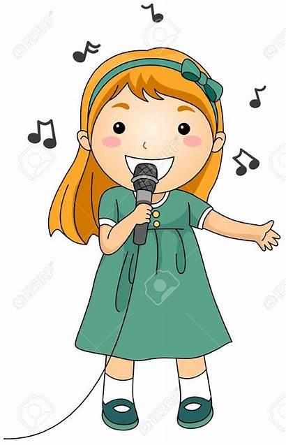 Singer Clipart Illustration Clip Singing Cartoon