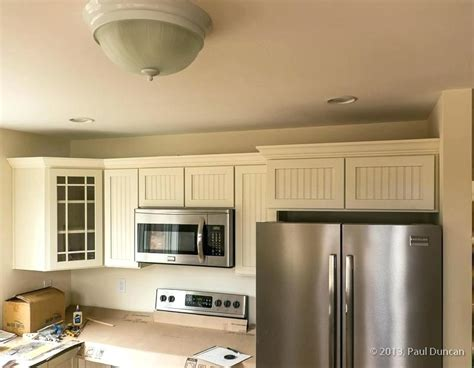 crown molding on top of cabinets how to install crown molding on kitchen cabinets photo 3