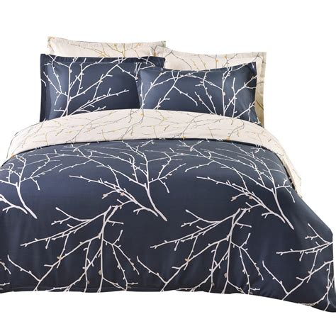 winlife tree branches bedding microfiber reversible bedding and mens bedding sets