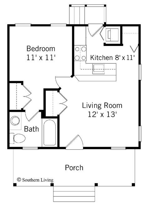 single bedroom house plans great   getaway weekend cabin   garage sh