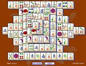 mahjong solitaire match tiles in puzzle game mahjong