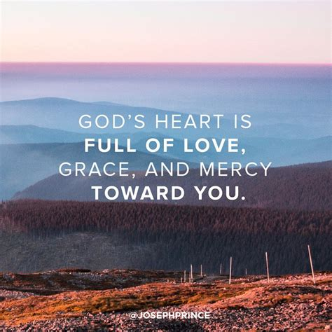 In a family the individuals adore each other. God's heart is full of love, grace, and mercy toward you ...