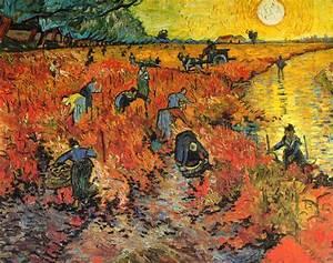 Vincent Van Gogh - Post Impressionism - Arles - La vigne ...