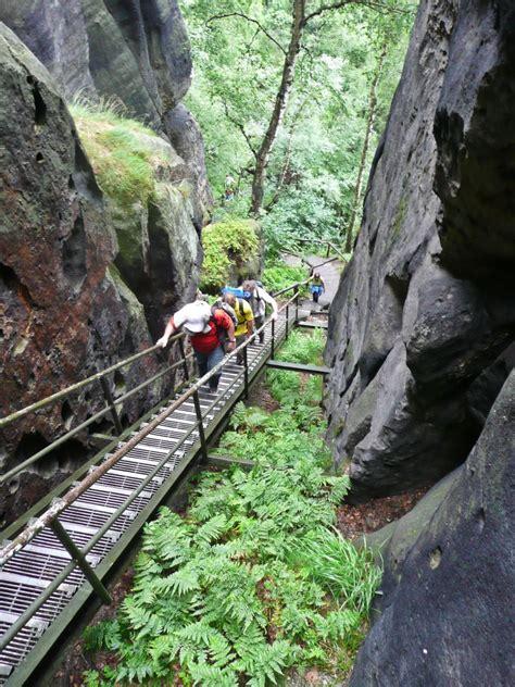 duitsland nationalpark saechsische schweiz tocht  de