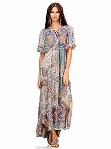 Robe Style Boheme : robe longue boheme chic ~ Dallasstarsshop.com Idées de Décoration